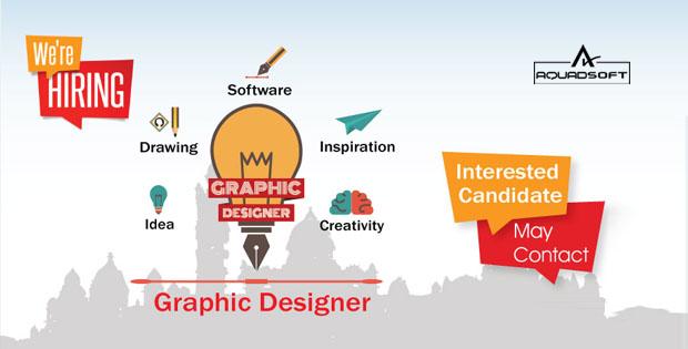Top Graphic Design Company In Delhi | Creative Designers | Aquadsoft