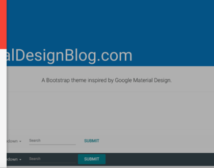 Comparing Bootstrap With Google's Material Design