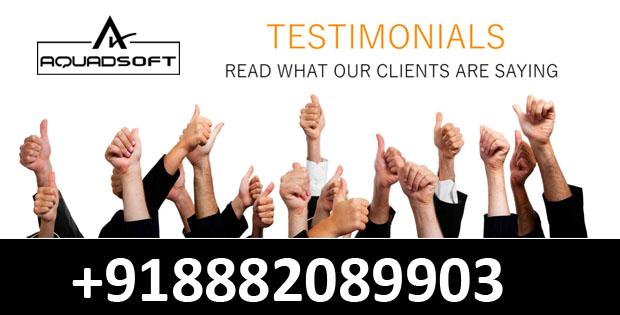 Our Client Testmonails